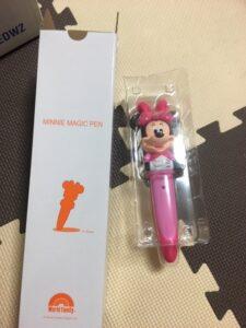 新しくなったミニーのマジックペン